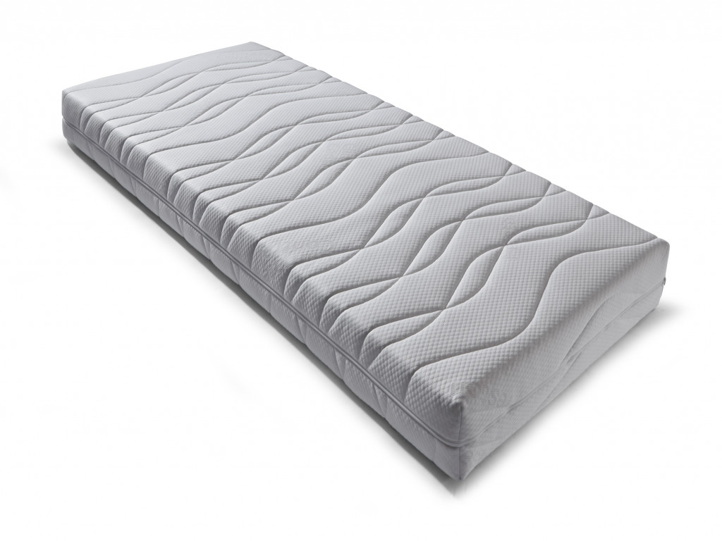 Pocketveer matras Preston Silver
