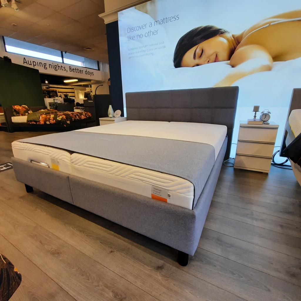 Showmodel Tempur Relax bed 180 x 200 cm